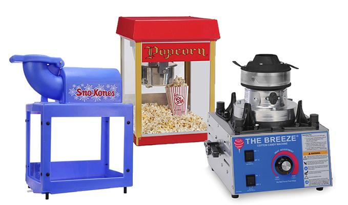 concession machine rentals las vegas